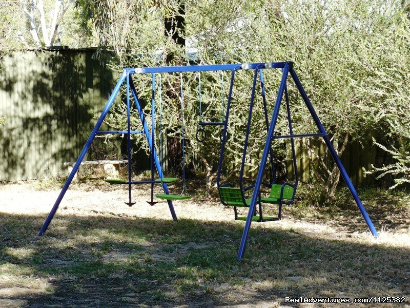 Childrens Play Equipement | Image #6/20 | Barossa Country Cottages. Premier Wine Country.