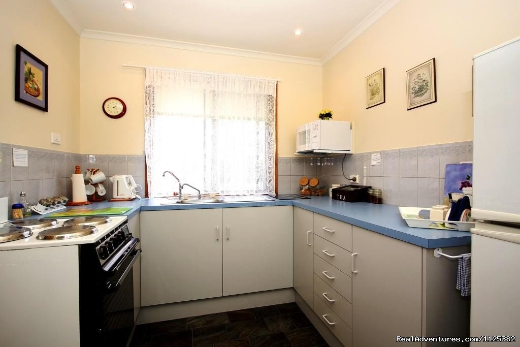 Jacaranda Cottage Kitchen | Image #9/20 | Barossa Country Cottages. Premier Wine Country.