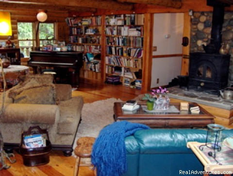 Great Room - Nevada City Timber Lodge Family Getaway Vacation