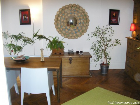 salle à manger - un 100m2 a Montmartre