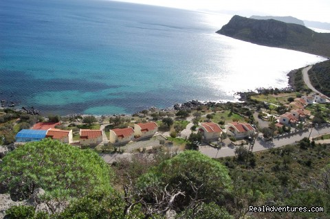 GREECE-MONEMVASIA:Gialos village beach apartments: