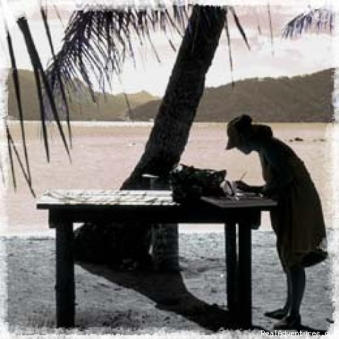 Writing at the Beach - Writing Poetry on the Sacred Island of Moloka'i