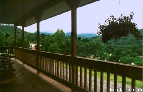 Grandview Cabins: Cabin View