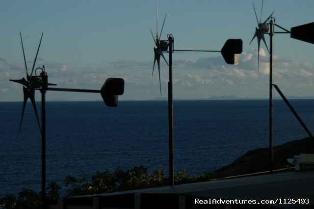 Wind Generators/Powers all lights (#24 of 26) - Eco Sensitive Canvas Cottages with an Ocean View