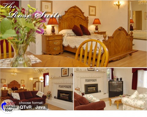 The Elegant Rose Suite - The Lord Nelson Bed & Breakfast