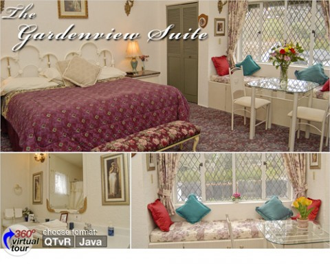 The Charming Gardenview Suite - The Lord Nelson Bed & Breakfast