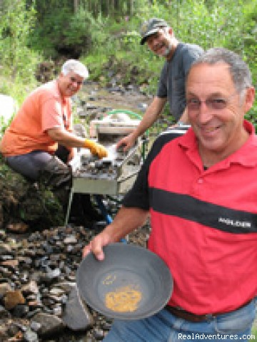 Recreational mining at the Gold Camp - Chicken Gold Camp & Outpost