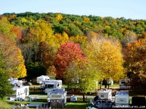 A 62 Acre Resort in Southern New York's Historic Hudson Valley with extra large RV sites and centrally located to all area attractions.