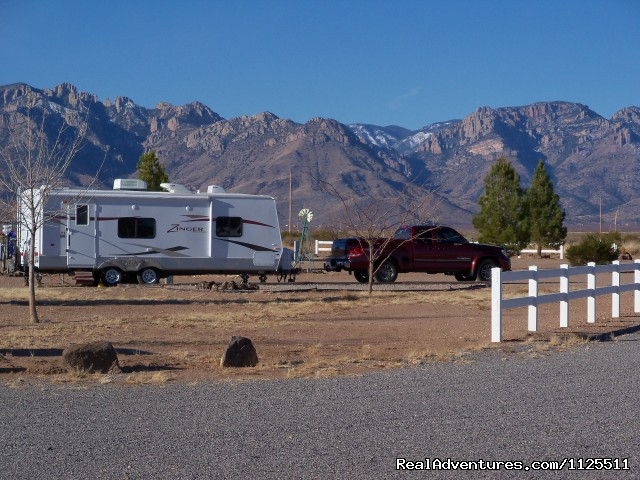 Site 40 - Come to the West Rusty's RV Ranch