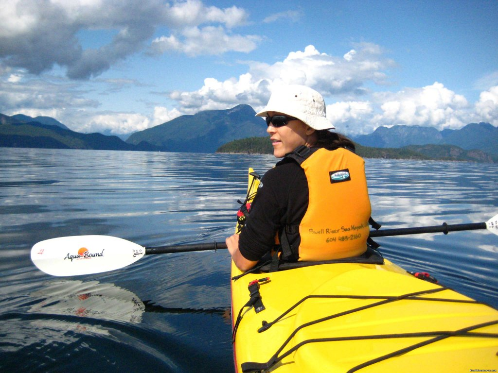 On tour in Desolation Sound | Image #4/25 | Sea Kayak Tours Desolation Sound, British Columbia