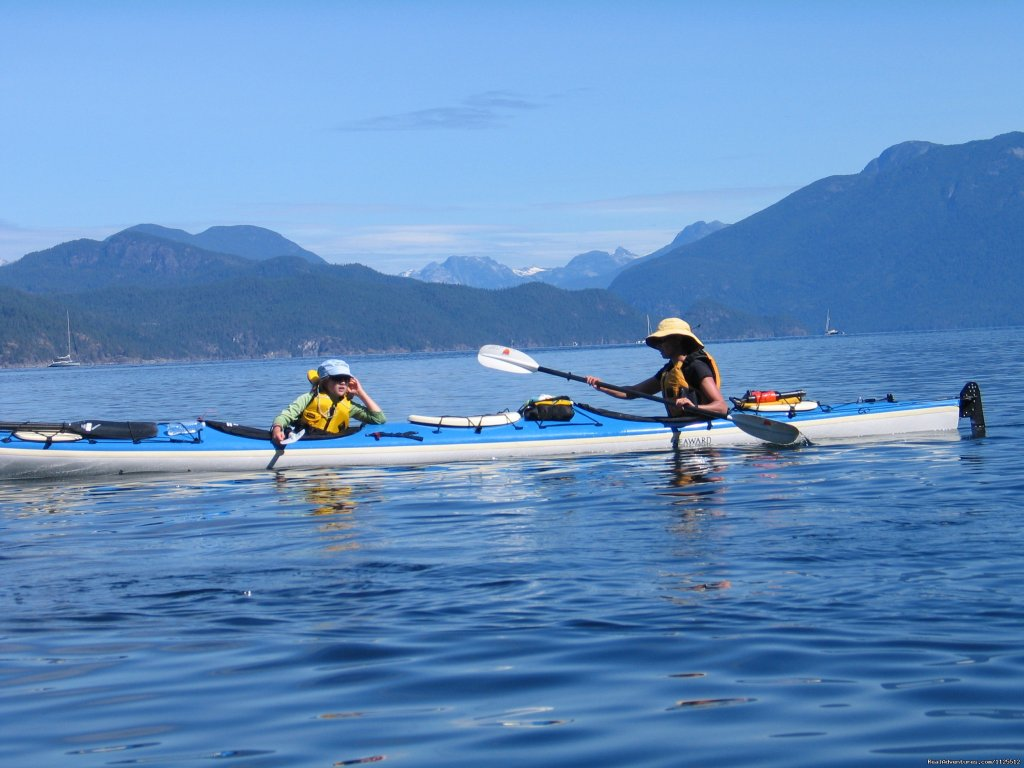 Paddling across Desolation Sound | Image #19/25 | Sea Kayak Tours Desolation Sound, British Columbia