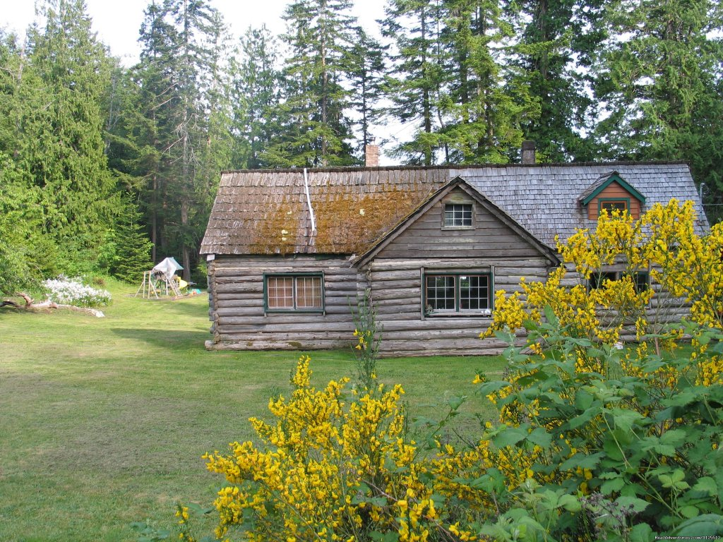 Cougar Lady's Cabin | Image #25/25 | Sea Kayak Tours Desolation Sound, British Columbia