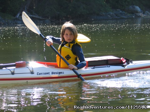 Dynamic Kayaking for Kids - Sea Kayak Tours Desolation Sound, British Columbia