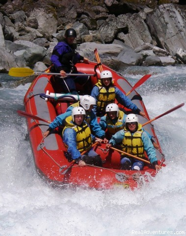 Whataroa river - Heli Rafting, half day to Multi day Adventures