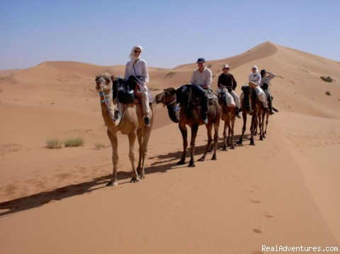 Trekking In The Desert - Ksar Bicha -hotel  In Merzouga
