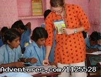 - Volunteer-India *Teach, Care & Community*