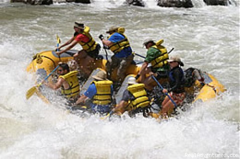 Paddle Boat - Outdoors Unlimited Grand Canyon Rafting