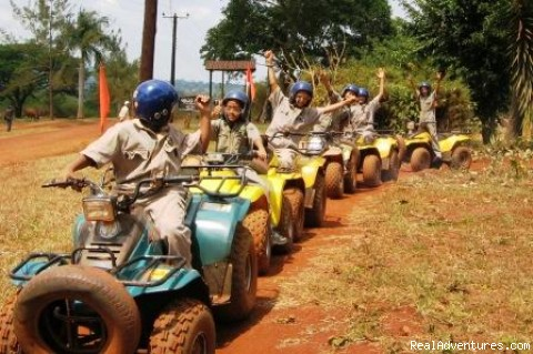 Kids Quads - Roar of de Nile Guided ATV / Quad Bike Safaris