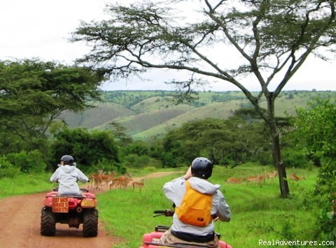 Game drive at Lake Mburo National Park (#6 of 10) - Roar of de Nile Guided ATV / Quad Bike Safaris