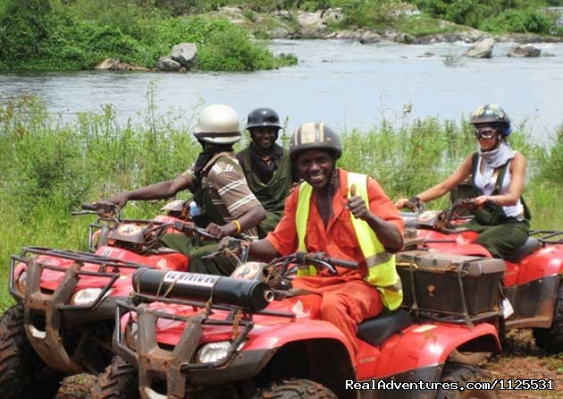 Roar of de Nile Guided ATV / Quad Bike Safaris: All Terrain Adventures guided ATV Quadbike Safaris