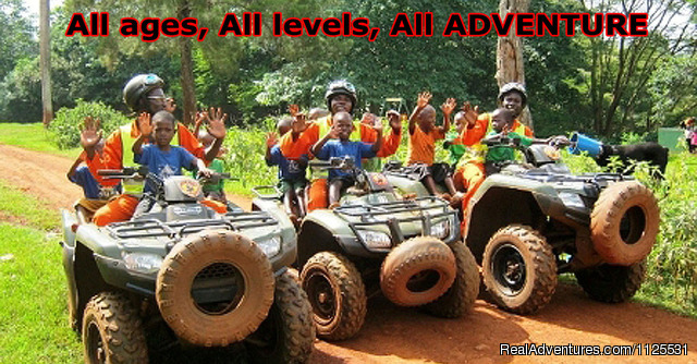 Logo All Terrain Adventures - Roar of de Nile Guided ATV / Quad Bike Safaris