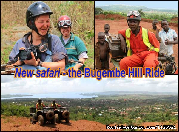 New ATV Quadbike Safari - the Bugembe Hill Ride (#4 of 10) - Roar of de Nile Guided ATV / Quad Bike Safaris