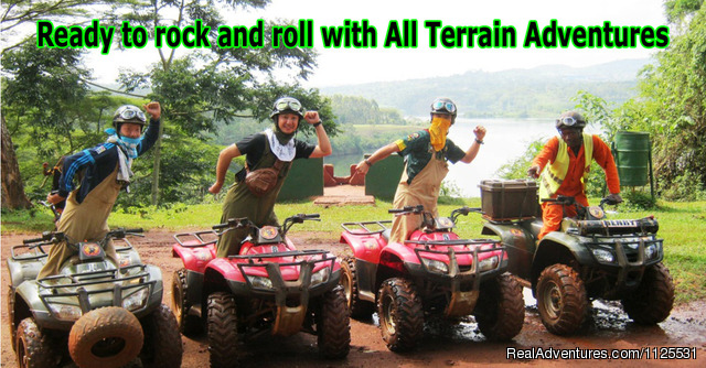 Ready to Rock & Roll with All Terrain Adventures - 'the best' ATV / Quad Bike Safaris in Africa