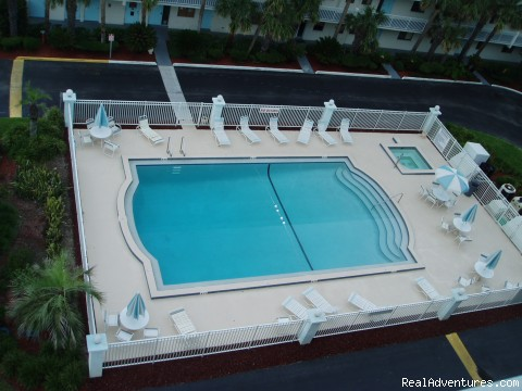 Sandcastles Pool - Oceanfront Cocoa Beach Condo 2 Bedroom 2 Bath