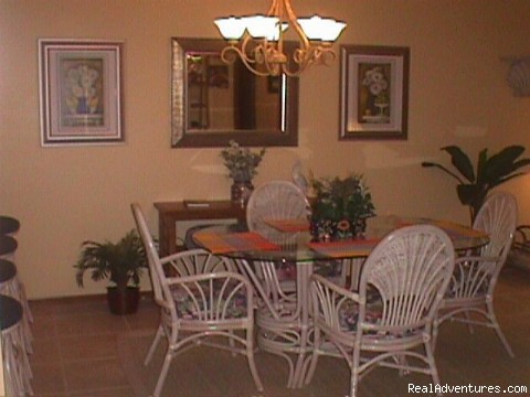 Dinningroom - Oceanfront Cocoa Beach Condo 2 Bedroom 2 Bath