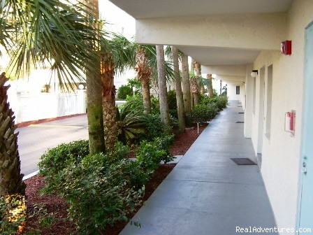 Sandcastles Walkway - Oceanfront Cocoa Beach Condo 2 Bedroom 2 Bath