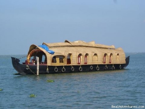 Houseboat Cruise in Kerala Backwaters Kumarakom, Kottayam, India Cruises