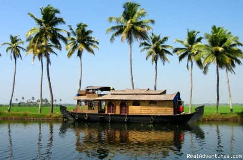 Houseboat on Backwaters (#2 of 4) - Houseboat Cruise in Kerala Backwaters