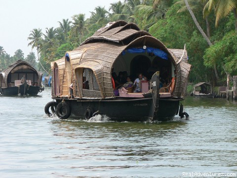 Houseboat on Alleppey backwaters (#3 of 4) - Houseboat Cruise in Kerala Backwaters