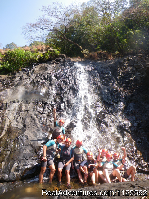 Image #4 of 11 - Canyoning in India with Goa Jungle Adventure