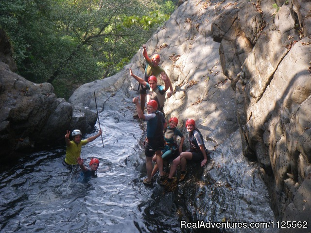 - Canyoning in India with Goa Jungle Adventure
