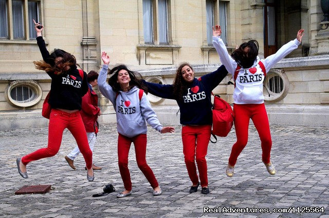 It's fun with ACCORD in Paris - French Summer courses in Paris for Juniors