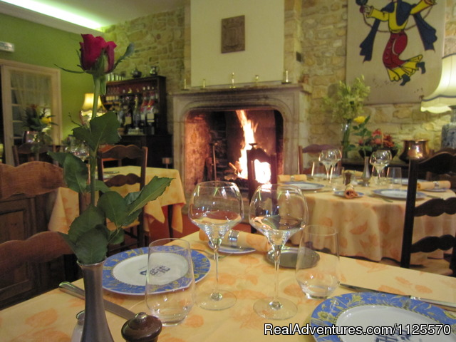 Enjoy fine dining - Cycle The Dordogne