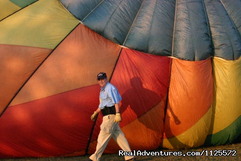 Image #6 of 25 - Sunrise in a Hot Air Balloon with Eagles WIngs