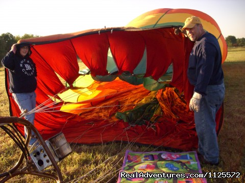 - Sunrise in a Hot Air Balloon with Eagles WIngs