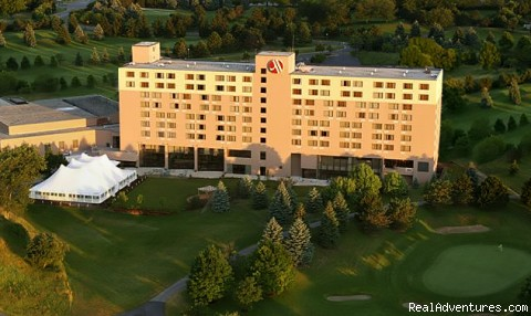 Luxury Hotel - Ann Arbor Marriott Ypsilanti at Eagle Crest Resort
