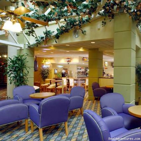 Hotel Lounge (#1 of 1) - Embassy Suites Hotel Piscataway-Somerset