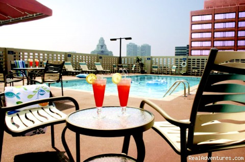 Holiday Inn Philadelphia - Historic District Holiday Inn Philadelphia Pool View