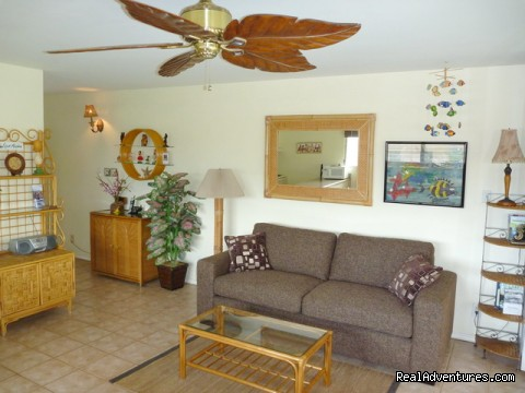 OCEAN VIEW FROM ALL ROOMS-Top Floor, End Unit Kihei, Hawaii Vacation Rentals