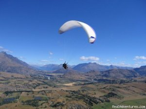 Coronet Peak Tandem Paragliding and Hang Gliding Queenstown, New Zealand Paragliding
