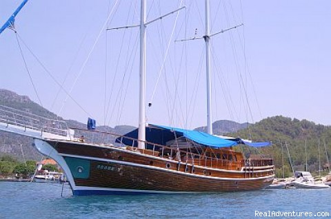 Luxury Gulet Charters in Turkish Coasts Ships of Paradise