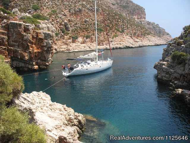 Italy Private SAILING Charter Sail away with us!