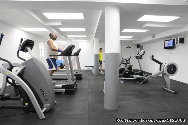 SimplyFit Gym - Wyndham Reef Resort - All Suites - All Beachfront