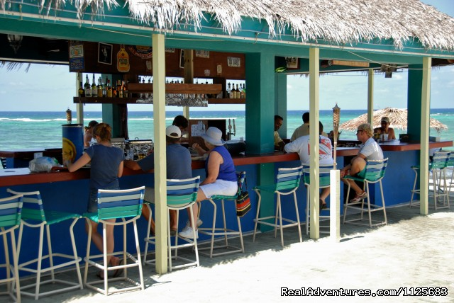 Rusty Pelican Beach Bar Day - The Reef Resort All Beach Front Suites