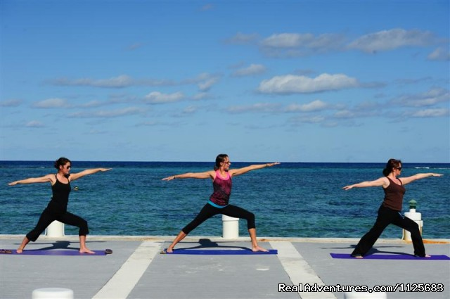 Activities - Yoga - Wyndham Reef Resort - All Suites - All Beachfront