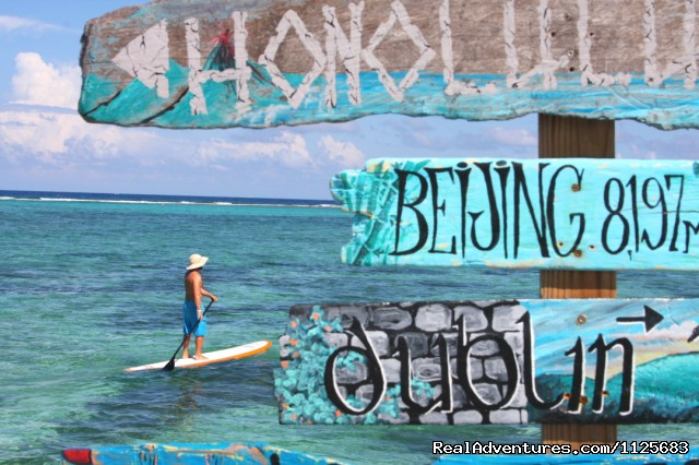 Activities - Paddle Boarding - Wyndham Reef Resort - All Suites - All Beachfront